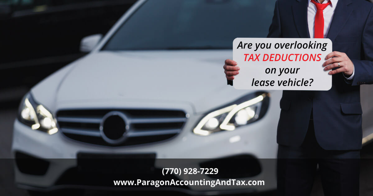 Lease Vehicle Tax Deductions You Could Easily Miss
