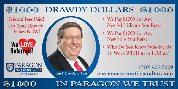 Drawdy Dollars Referral Program